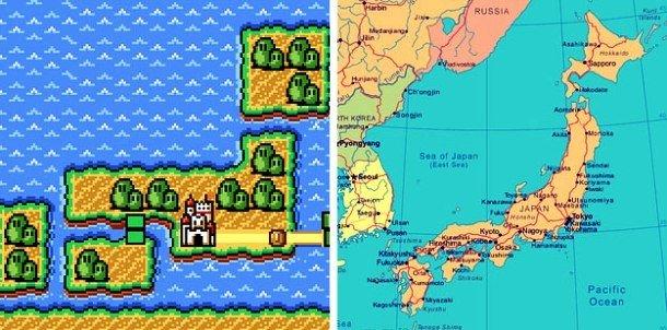 География игры