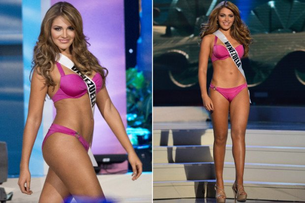 Представительница Венесуэлы на конкурсе красоты