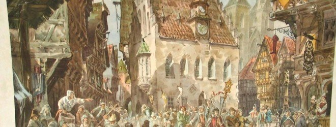 средневековый лондон
