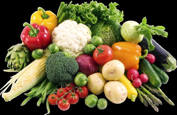 Болгарский перец, томаты, огурцы, картофель и другие овощи