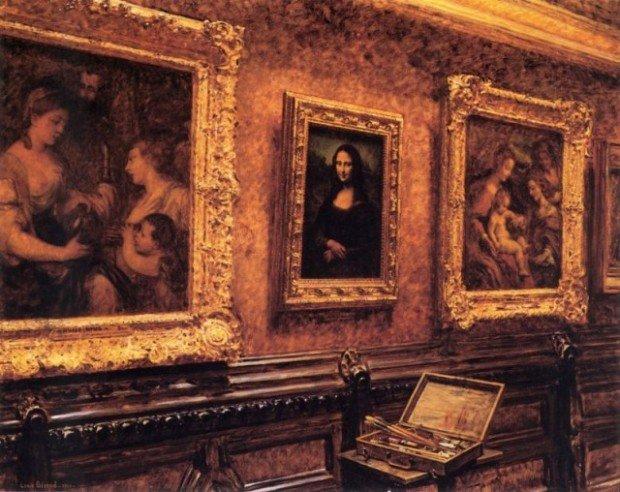 'Джоконда' в музее