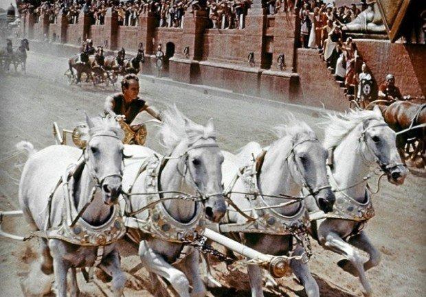 Кадр из фильма 'Бен Гур'