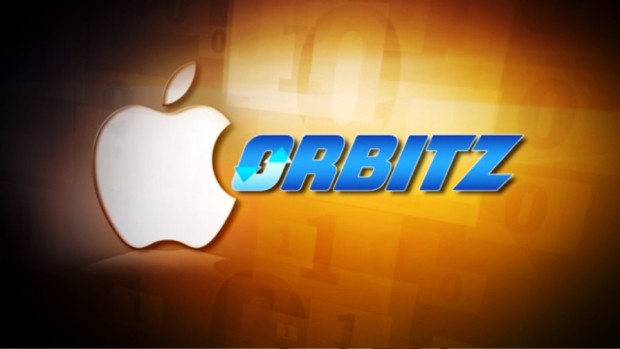 Логотипы компаний Apple и Orbitz