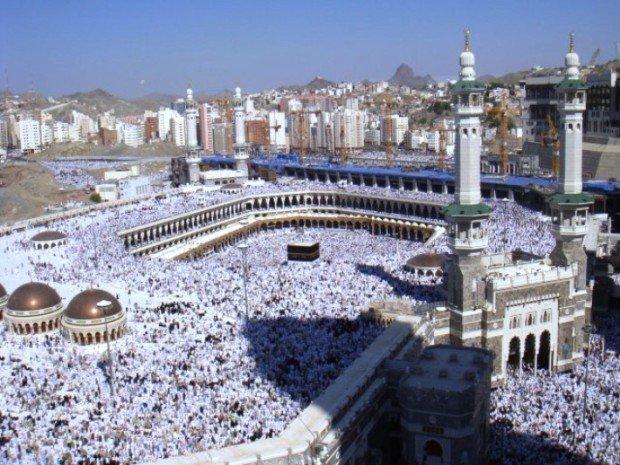 Мусульмане в Мекке во время Хаджа