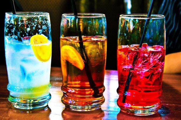 Три коктейля