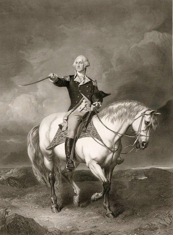 Джордж Вашингтон на коне