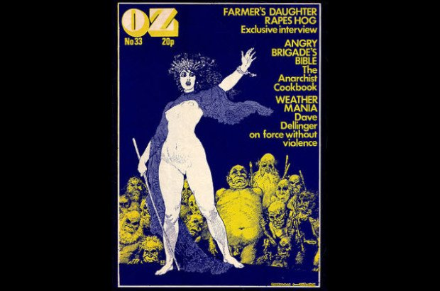 OZ Лондон, No.33, Февраль 1971