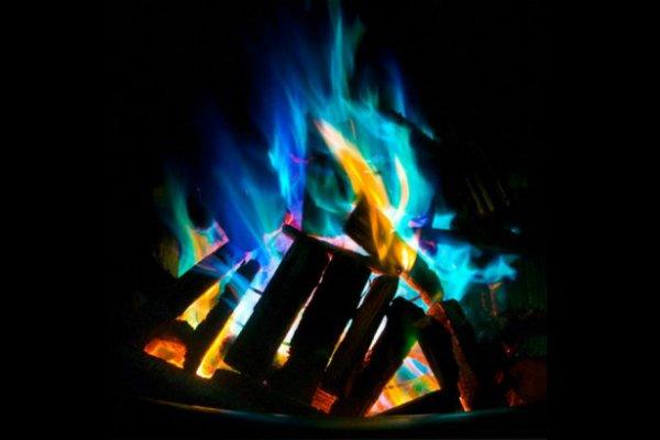 Цветное пламя