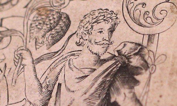 Прижизненное изображение Шекспира