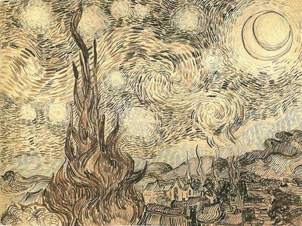 Рисунок Ван Гога