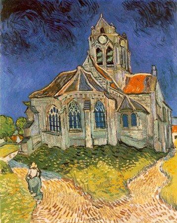 «Церковь в Овере», Винсент Ван Гог, 1890 год