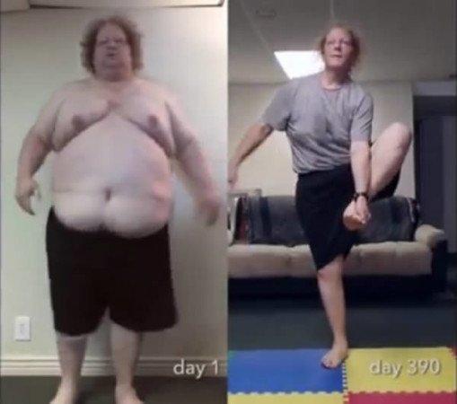Джерад похудел на 136 кг за 15 месяцев