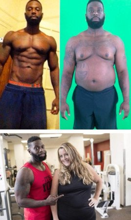 Адонис Хилл похудел на 26 кг