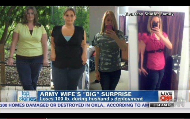 Мисти Шафер из Южной Каролины, США, похудела на 43 кг
