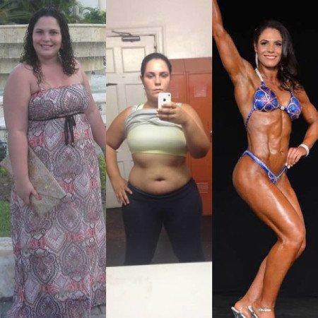 Наталия Тейксейра похудела на 52 кг
