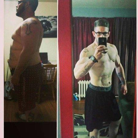 Райан из Шотландии похудел на 83 кг