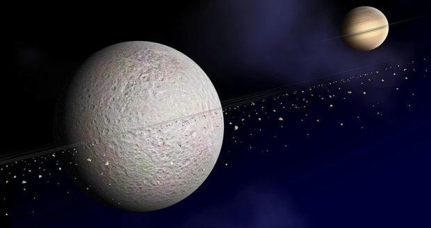 Рея, спутник Сатурна