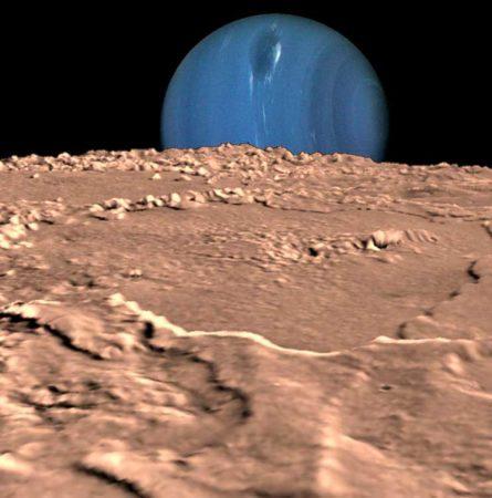 Тритон спутник Нептуна