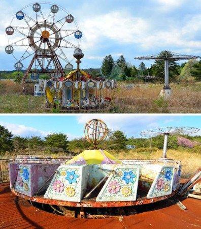 Заброшенные парки развлечений. Япония