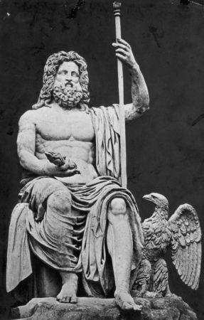 Зевс,статуя