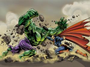 Халк против Супермена