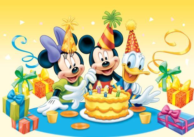 День рождения Микки Мауса