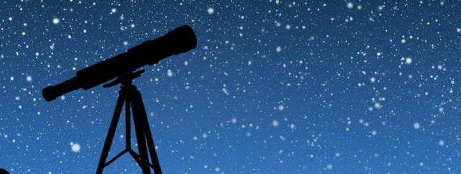 Звёздное небо и телескоп