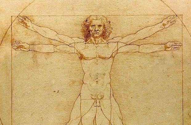 Лео увлекался изучением анатомии человека