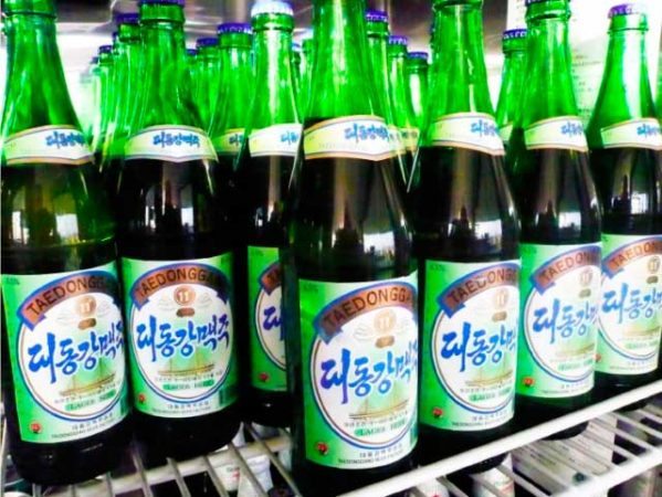 Северная Корея, пиво Taedonggang
