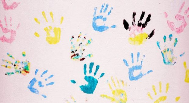 Отпечатки детских рук