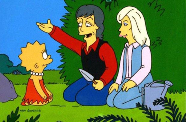 Пол Маккартни в «Симпсонах»