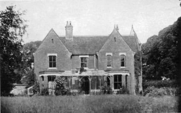 Дом священника в Борли