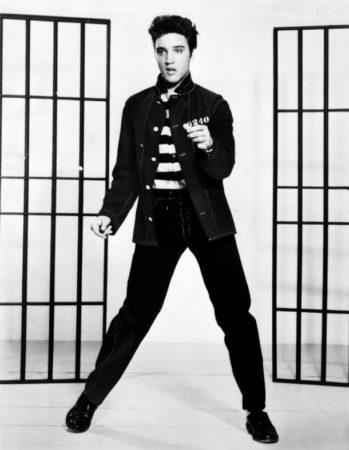 Элвис Пресли в молодости