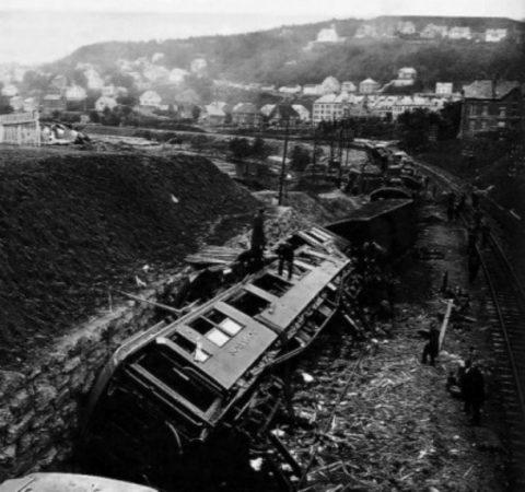 Крушение поезда в Гентине