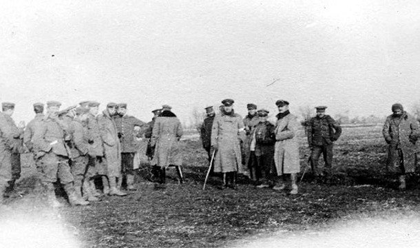 Солдаты 1 мировой войны