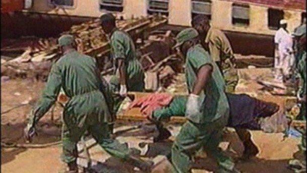 Железнодорожная авария в Иганду