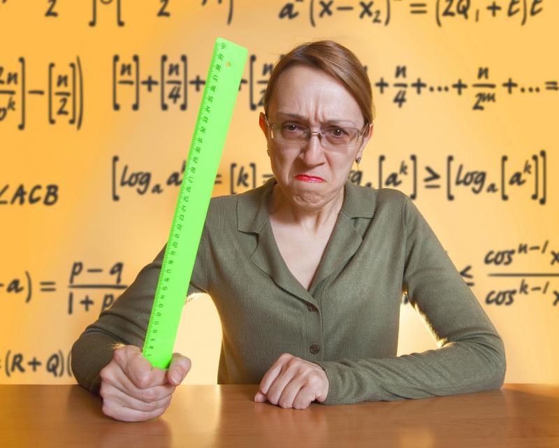 Злая учительница