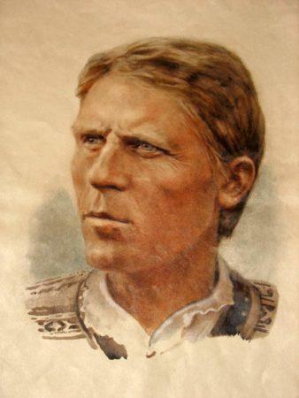 рисунок мужчины