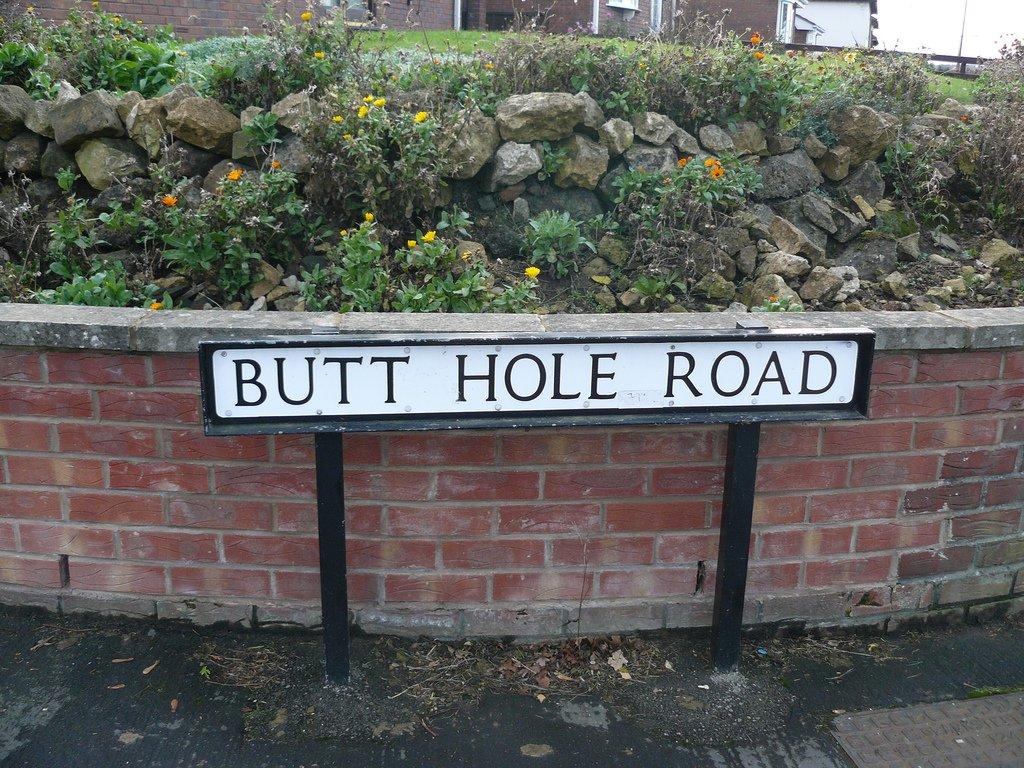 funny street names