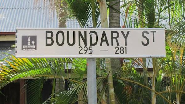 Пограничная улица раньше действительно была значимой границей