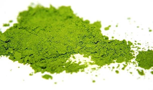 Зелёный порошок