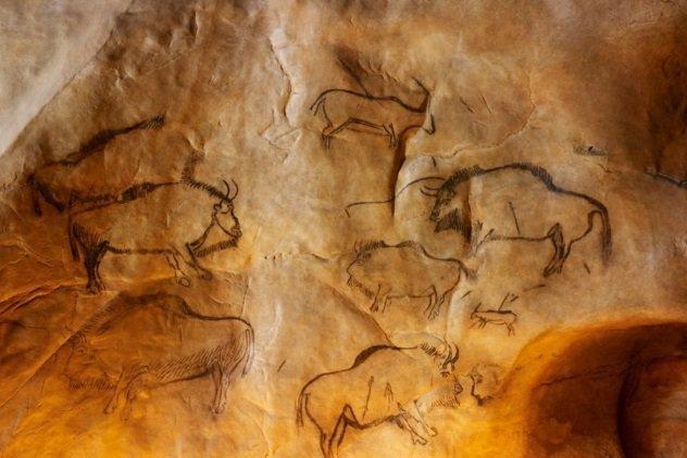 Сексуальные наскальные рисунки каменного века