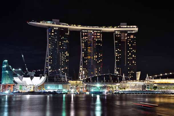 Marina Bay Sands — Сингапур, Таиланд