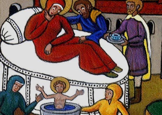 Святой Николай был необычным младенцем