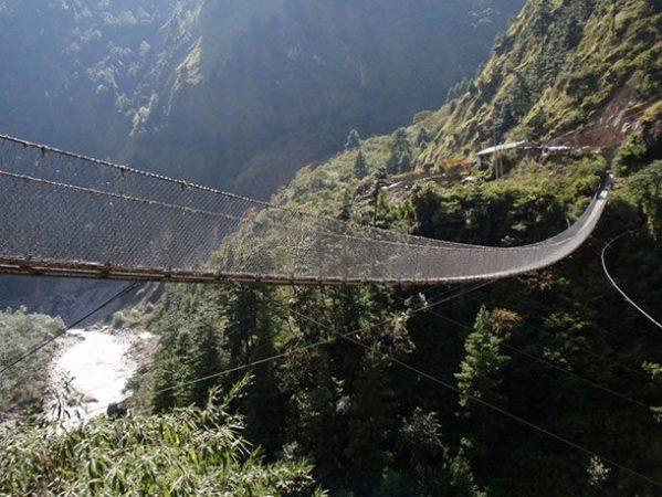 Мост Гхаса, Непал