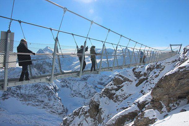 Мост горы Титлис (Швейцария)