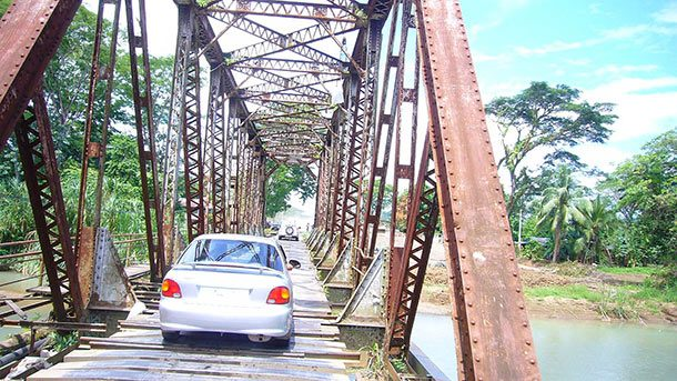 Мост Куэпос, Коста-Рика