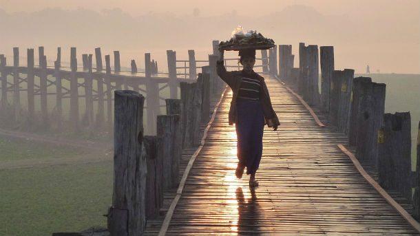 Мост Убейн, Мьянма