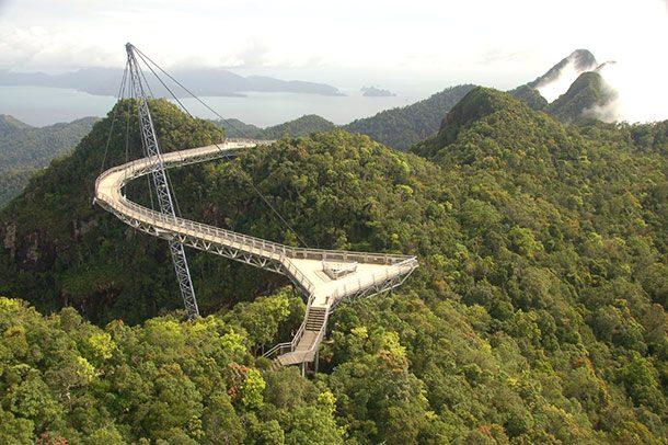 Небесный мост «Лангкави», Малайзия