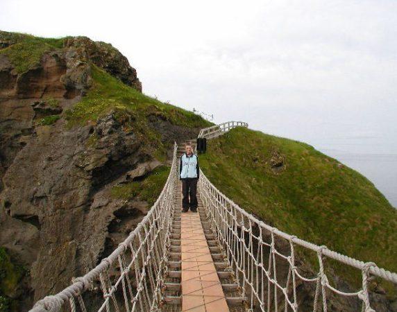 Верёвочный мост Каррик-А-Реде (Северная Ирландия)